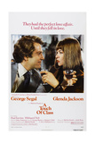 A TOUCH OF CLASS  US poster  from left: George Segal  Glenda Jackson  1973
