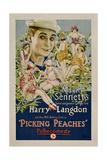 PICKING PEACHES  Harry Langdon with the 1924 Bathing Girls  1924