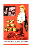 HOT ROD RUMBLE  right: Leigh Snowden  1957