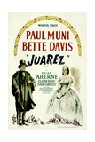 JUAREZ  Paul Muni  Bette Davis  1939