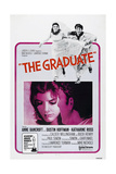 THE GRADUATE  US poster  from left: Katharine Ross  Dustin Hoffman  1967