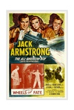 JACK ARMSTRONG  ALL AMERICAN BOY  top left: John Hart  in 'Chapter 13: Wheels of Fate'  1940