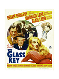 THE GLASS KEY  Brian Donlevy  Alan Ladd  William Bendix  Veronica Lake  1942