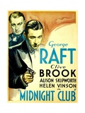 MIDNIGHT CLUB  from left: Clive Brook  George Raft  1933