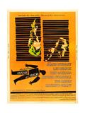 ANATOMY OF A MURDER  l-r: Lee Remick  James Stewart on US poster art  1959