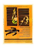 Anatomy of a Murder  Lee Remick  James Stewart on US poster art  1959