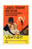 VERTIGO  James Stewart  Kim Novak  1958