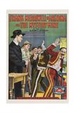 FRANK MERRIWELL IN ARIZONA; OR  THE MYSTERY MINE  poster art  1910