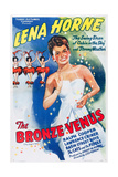 THE BRONZE VENUS (aka THE DUKE IS TOPS)  Lena Horne on 1943 poster art  1938