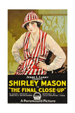 THE FINAL CLOSE-UP  Shirley Mason on poster art  1919