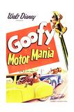 MOTOR MANIA  top right: Goofy  1950