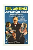 THE WAY OF ALL FLESH  center: Emil Jannings  1927