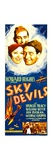 SKY DEVILS  from left: Ann Dvorak  William Boyd  Spencer Tracy on insert poster  1933