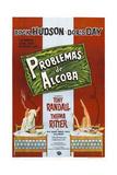PILLOW TALK  (aka PROBLEMAS DE ALCOBA)  Argentinan poster  Rock Hudson  Doris Day  1959