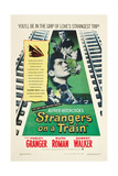 STRANGERS ON A TRAIN  Farley Granger  Robert Walker  Ruth Roman  1951