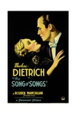 THE SONG OF SONGS  left: Marlene Dietrich  Brian Aherne  1933