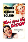 THERE GOES THE GROOM  US poster art  from top: Ann Sothern  Burgess Meredith  1937