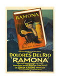 RAMONA  center  top: Warner Baxter; center  bottom: Dolores Del Rio  1928