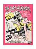 MARIHUANA  (aka MARIHUANA STORY)  Mexican poster art  1950