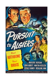 Pursuit to Algiers  Basil Rathbone  Nigel Bruce  1945