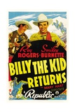 BILLY THE KID RETURNS  Smiley Burnette  Roy Rogers  1938