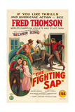 THE FIGHTING SAP  top right and inset left: Fred Thomson  1924