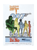 Dr No  US poster  Sean Connery  1962