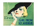 THE GIRL FROM 10TH AVENUE  Bette Davis on title card  1935