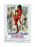 AMARCORD  German poster  1973