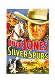 SILVER SPURS  Buck Jones  1936