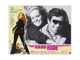 THE HARD RIDE   (from left of large inset): Sherry Bain  Robert Fuller  1971