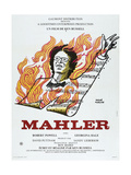 MAHLER  French poster  Robert Powell  1974