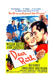 DEAR RUTH  US poster  center from left: Joan Caulfield  William Holden  1947