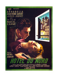 HOTEL DU NORD  French poster art  from top: Jean-Pierre Aumont  Annabella  1938