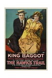 THE HAWK'S TRAIL  left: King Baggot in 'Episode 5: The House of Fear'  1919