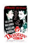 DEVOTION  from left: Ida Lupino  Olivia De Havilland  Paul Henreid  Sydney Greenstreet  1946