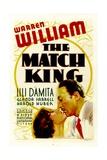 THE MATCH KING  from left: Lili Damita  Warren William  1932