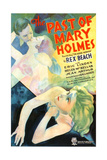 THE PAST OF MARY HOLMES  US poster  from top: Eric Linden  Jean Arthur  Helen MacKellar  1933
