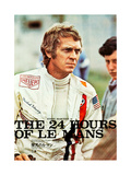 LE MANS  Steve McQueen on Japanese poster art  1971