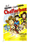 CHATTERBOX  US poster  from left: Joe E Brown  Rosemary Lane  Judy Canova  1946