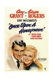 ONCE UPON A HONEYMOON  from left: Cary Grant  Ginger Rogers  1942