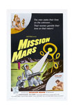 MISSION MARS  US poster  bottom right: Nick Adams  Heather Hewitt  1968
