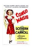 CONGO MAISIE  US poster  Ann Sothern  1940