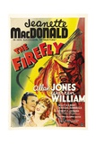 THE FIREFLY  bottom from left: Allan Jones  Jeanette MacDonald  1937