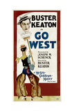 GO WEST  Buster Keaton  1925
