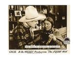 THE SQUAW MAN  l-r: Jack Holt  Ann Little on lobbycard  1918