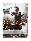GIMME SHELTER  (aka T AGE D'OR)  French poster  Mick Jagger  1970