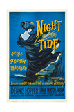 NIGHT TIDE  US poster  1961