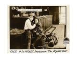 THE SQUAW MAN  l-r: Elliott Dexter  Ann Little  Jack Holt on lobbycard  1918