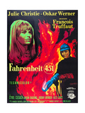 FAHRENHEIT 451  Julie Christie  Oskar Werner  1966